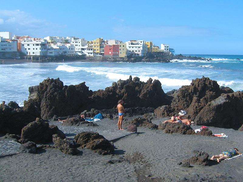 Playa del Jardin - Punta Brava