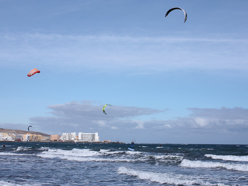 Playa del Medano - Windsurfen